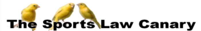 The Sports Law Canary