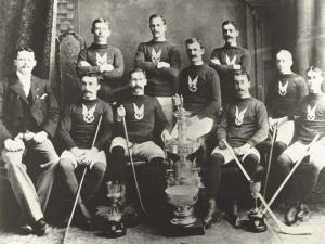 Montreal AAA 1893 First Stanley Cup Champions